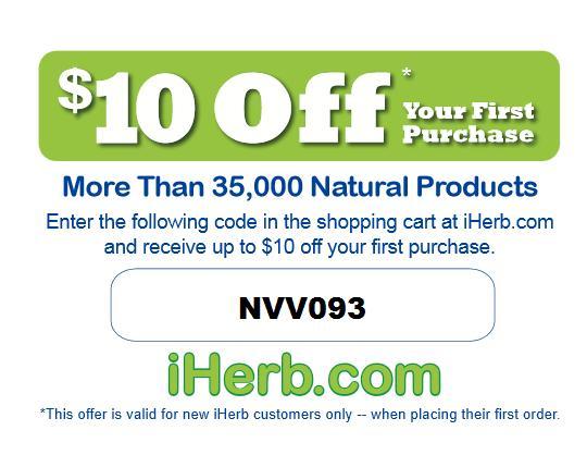 Iherb Coupon Code June 2013