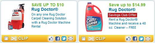 Rug Doctor Coupons 2014